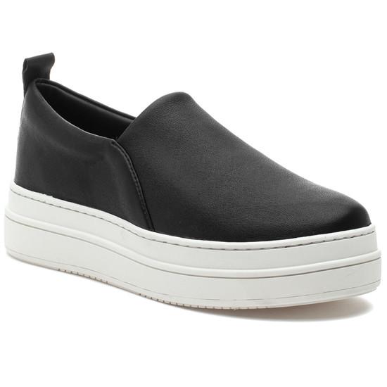 NIPSTER Black Stretch Leather