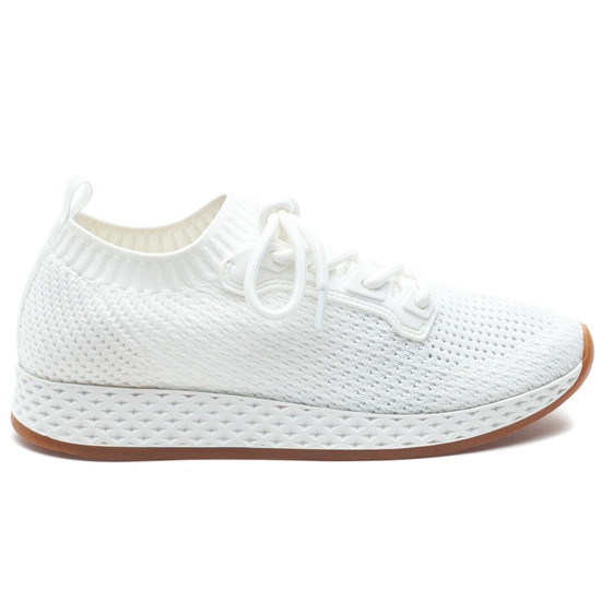 RALEIGH White Knit