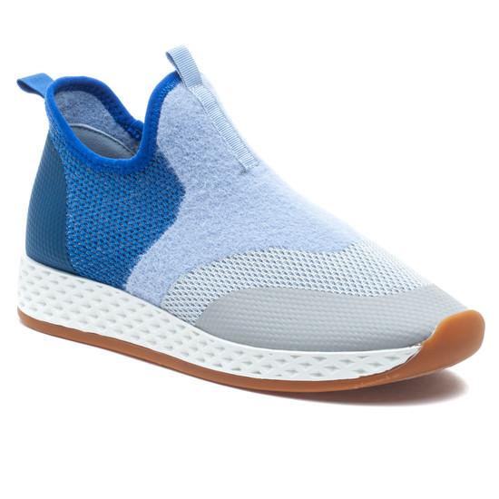 TACEY Blue Multi Knit
