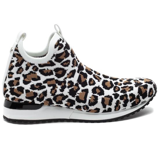 ORION SP White Leopard Knit