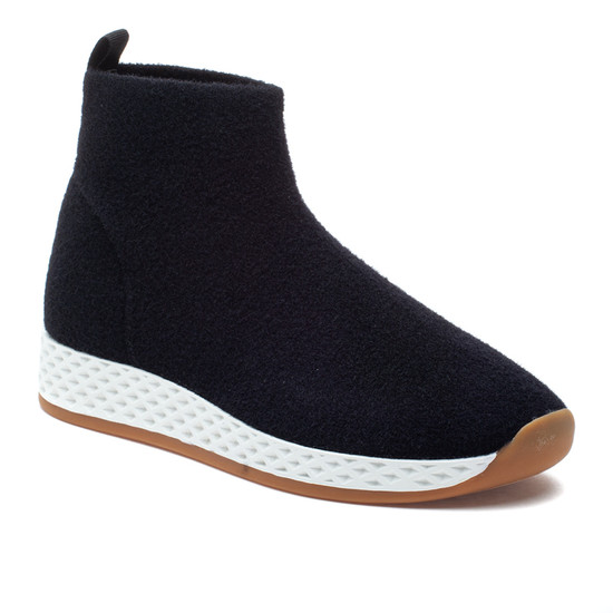 TOOTSIE Black Wool Knit
