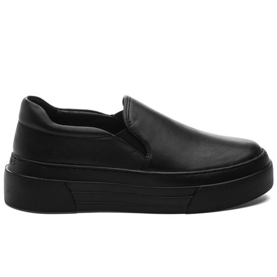 AILEEN Black/Black Leather