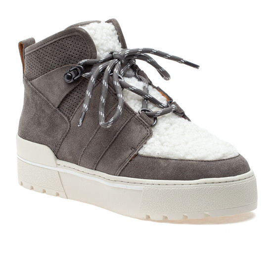 NELL Grey Suede