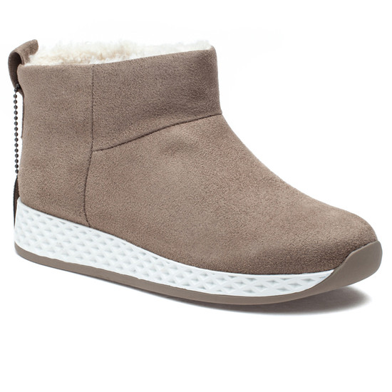 OLLIE Taupe Luxe Waterproof Suede