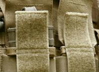 White MJ May 3814-SAT-PSA//H-10 Velcro Brand Super Adhesive Woven Nylon Hook Fastener 1 Width x 10