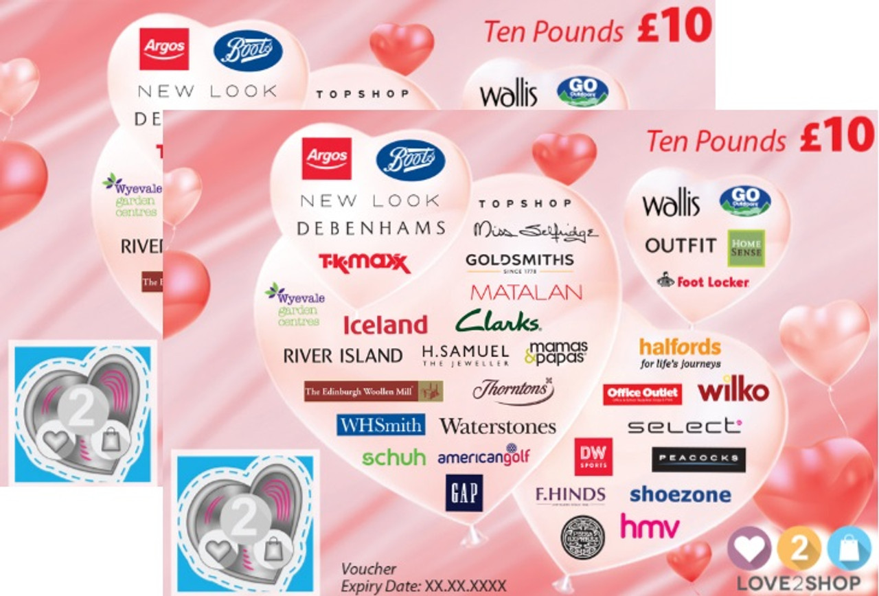 Love2shop 20 Gift Voucher