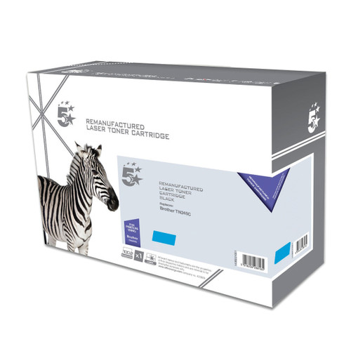 Business Remanufactured Laser Toner Cartridge HY Page Life 2200pp [Brother TN245C Alternative] Cyan