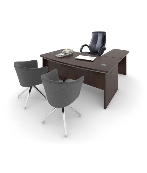 Magnum Executive Desk With Optional Return Desk