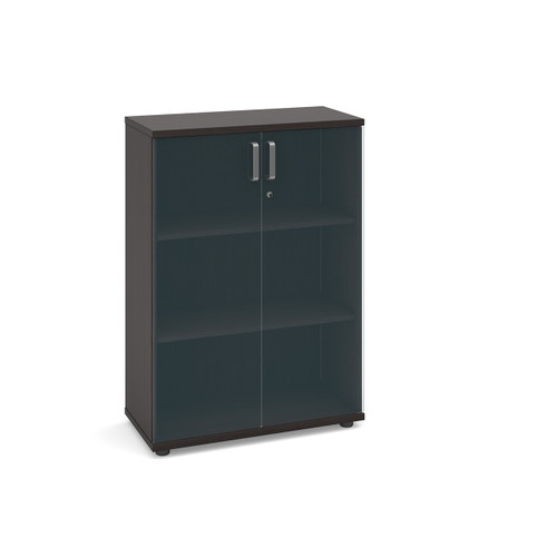 Magnum Low Cupboard with Glass Doors