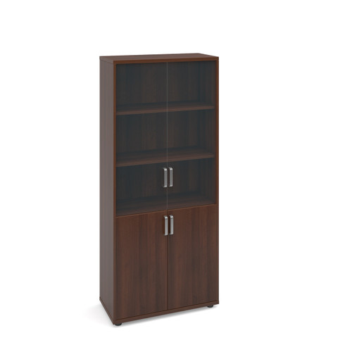 Magnum Tall Cupboard with Glass Doors