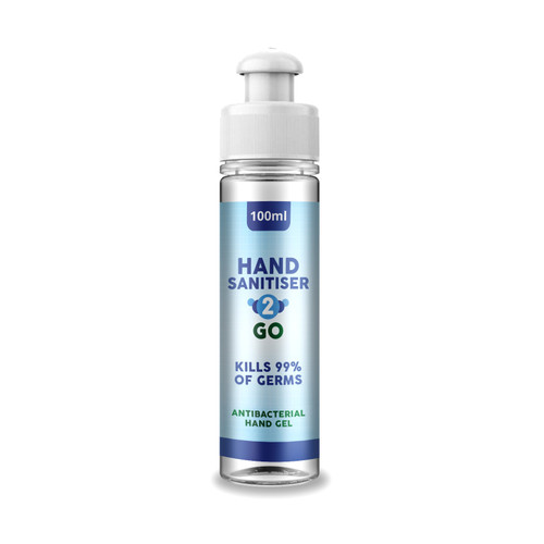 Antibacterial Alcohol Hand Sanitiser 2 Go 100ml