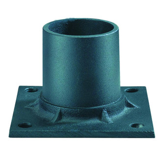 Lamp Posts Accessories Collection Pier Mount Adapter Accessory (245|C347BK)