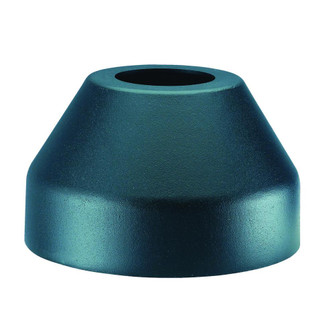 Lamp Posts Accessories Collection Flange Base Cover Accessory (245|C2410BK)