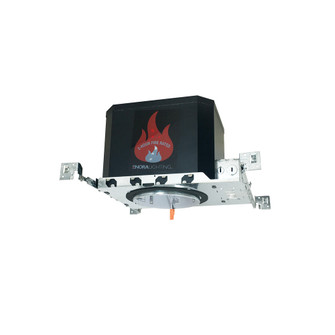 6'' LED Dedicated 2-Hour Fire Rated IC/Non-IC, AT New Construction Housing, 120-277V, (104 NFBIC-6LMRATA/4W)