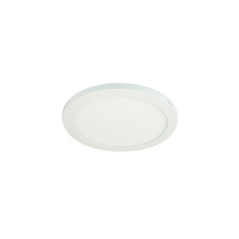 8'' ELO+ Surface Mounted LED, 1100lm / 18W, 5000K, 90+ CRI, 120V Triac/ELV Dimming, Wh (104|NELOCAC-8RP950W)