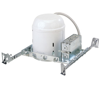 6'' Line Voltage Non-IC New Construction Housing, 10W Label (104 NH-26Q/10)