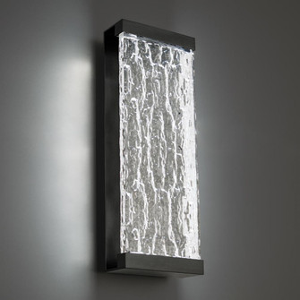Fusion LED Outdoor Wall Light (16 WS-W39120-BK)