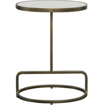Uttermost Jessenia White Marble Accent Table (85|25135)