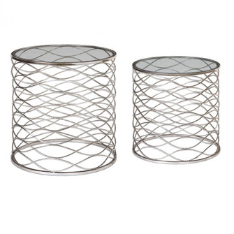 Uttermost Aida Iron Cage Accent Tables, S/2 (85|24628)