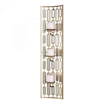 Uttermost Loire Mirrored Wall Sconce (85 04045)