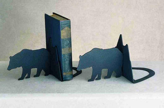 Lone Bear Bookends (96 23404)
