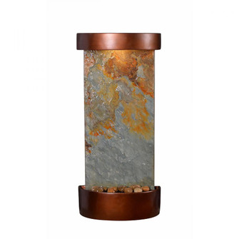 Riverbed Indoor/Outdoor Table/Wall Fountain (67 51027SLCOP)