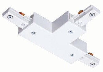 ''T'' Connector White (143|R25 WH)