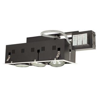 3-Light Double Gimbal Linear Recessed Fixture Low Voltage (614|MGRA175-3EWB)