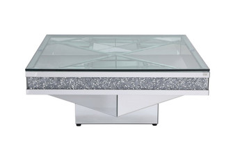 39 in. crystal mirrored coffee table (758 MF92043)