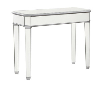 Rectangle Table 41 in. x 17 in. x 33 in. in silver paint (758 MF6-1025S)