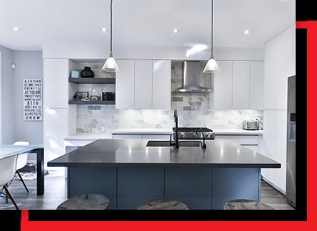layer lighting in kitchen