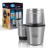 Compact Stainless Steel Electric Wet and Dry One Touch Grinder, 80 g, 200 W