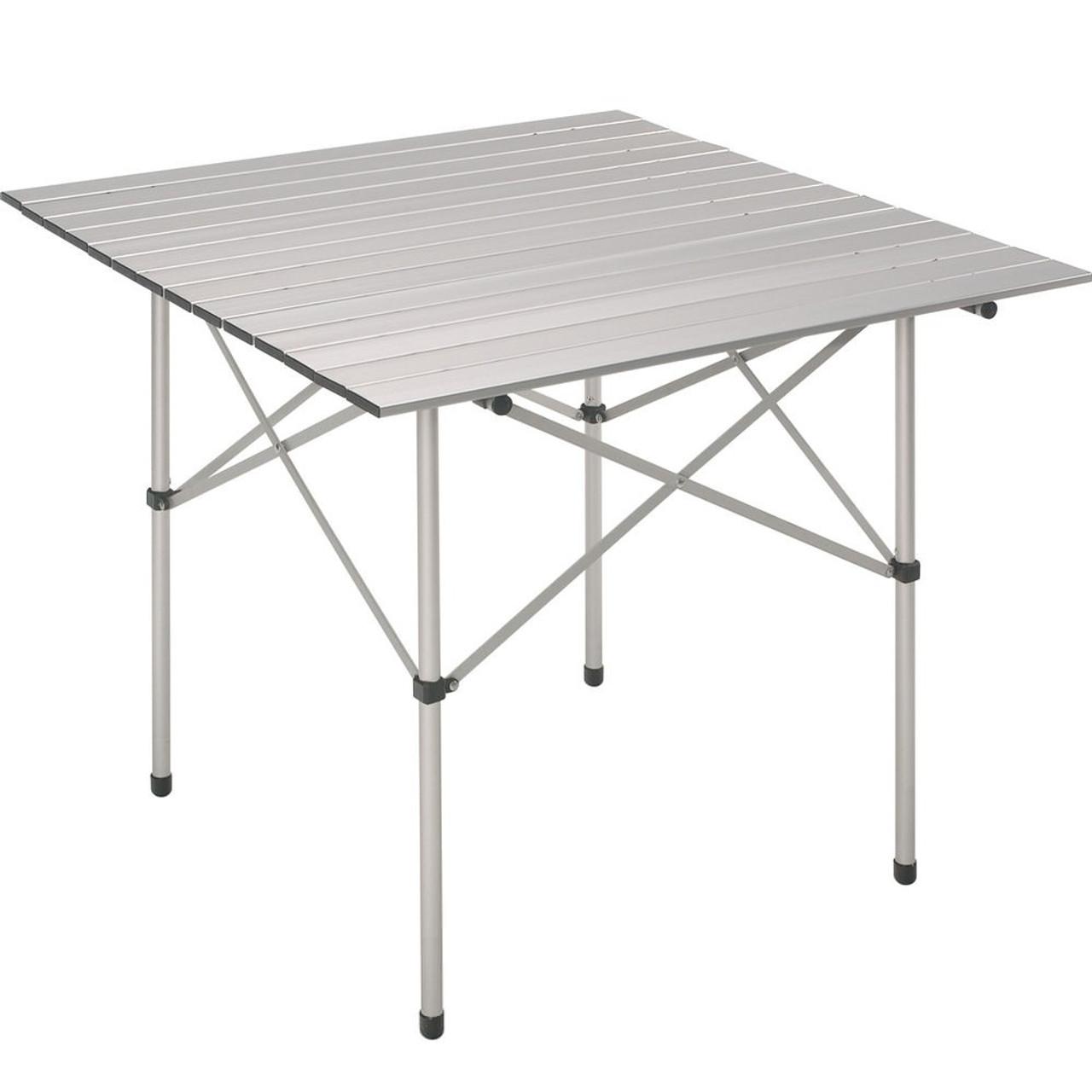 - Folding Table Square Aluminium Leisure 70cm