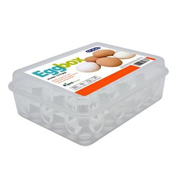 Egg Box Holds 12 Eggs Clear BPA Free