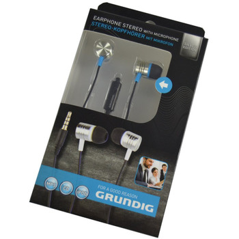 Stereo Headphones with Microphone Deep Bass Attack 3.5 mm Headphones Grundig