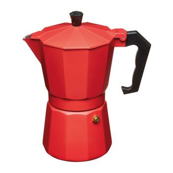 Le'Xpress Italian Style 290ml Red Coloured Espresso Coffee Maker