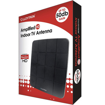 Active HD Digital Indoor TV Antenna A3202BK 50dB