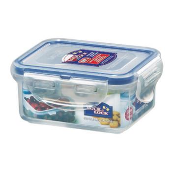 Lock and Lock Rectangular Plastic Food Container 180ml 2pack