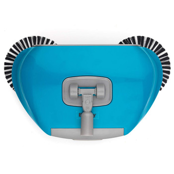 LA047151 Spinning Sweeper, 105 cm, Stainless Steel, Turquoise, 111.7 x 31 x 19.5 cm