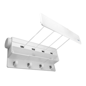 Four Line Retractable Washing Line, 12m of drying space (4 x 3m lines)
