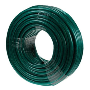 15m Hose and Spray Nozzle Set - Green 415SNS