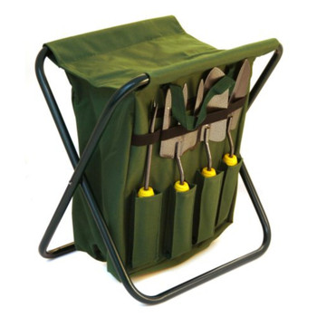 7PC Garden Tools set and Stool
