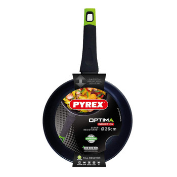 Frying Pans Forged Alum Optima, Black 26 CM