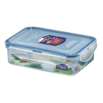 Lock and Lock Rectangular Plastic Food Container 550ml 2Pack