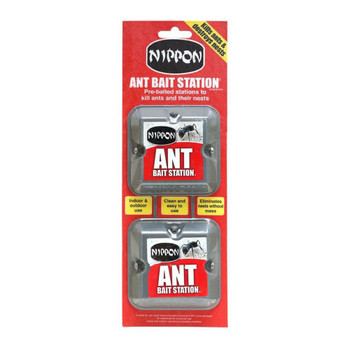 Nippon Ant Killer Trap Bait Station Twin Pack