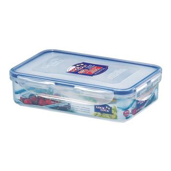Lock and Lock Rectangular Plastic Food Container 800ml 2Pack
