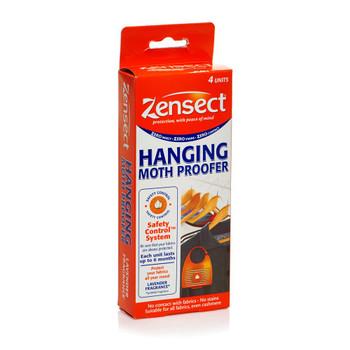 Zensect Hanging Moth Proofer with Lavender Fragrance 4 Units