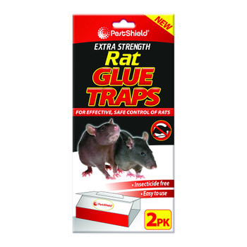 Pestshield Extra Strength Rat Glue Trap 2 Pack