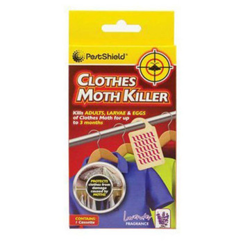 Pestshield Hanging Clothes Moth Killer with Lavender Scent