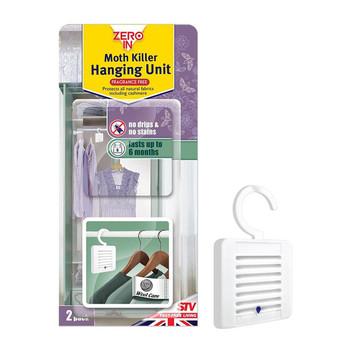 Zero In Moth Killer Hanging Unit 2 Pack